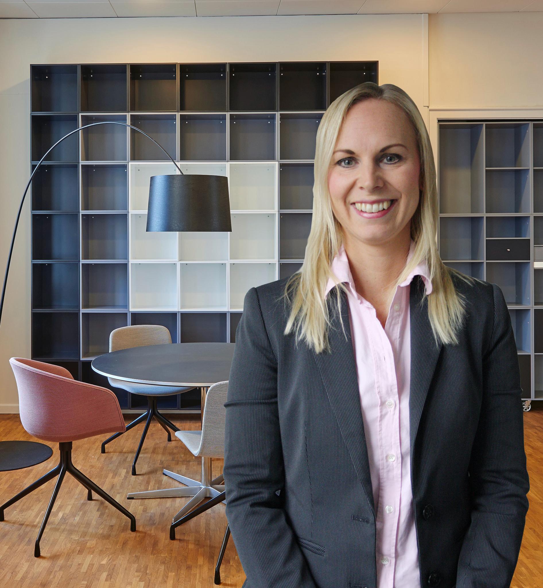 Pernilla Hjälm, Team Leader på Flex Services